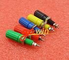 5set  5 Colors Binding Post Speaker 4mm Female Banana Plug Test Connector