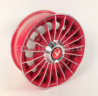 Fiat 500 Red Diamond Wheel New