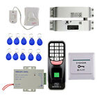 Durable 1000 Users Fingerprint and10 Pcs Keyfobs Door Entry Control System
