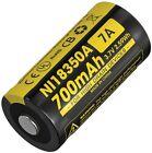 Nitecore NCNI18350A IMR 18350 Li-ion Battery 700mAh Capacity 3.7V