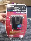 Sony TCM-453V Pressman Standard Cassette Recorder