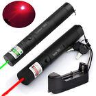 10Miles Range Green&Red 1MW Visible Beam Presentation Laser Pointer Pen USA