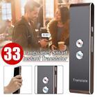 Smart Translator BT Easy Speech Trans 33 Languages f/Learning Travel Shopping U