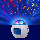 Starry Sky Night Light Projection Music Digital Alarm Clock Thermometer Calendar