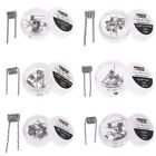 10Pcs SS316 Premade Clapton Coil DIY Coil Heating Alien Clapton Coils Wire RDA