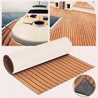 "Universal 94.5""X17.7"" Autos Boat Marine Flooring Yacht EVA Foam Mat Teak Decking"