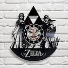 Wall Clock The Legend Of Zelda Link Twilight Princess Vinyl Record Home Decor