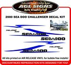 2000 SEA DOO Challenger Replacement Decal Kit  reproductions  sea-doo graphics