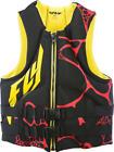 Fly Racing Neoprene Life Vest Black/Yellow 2X-Large
