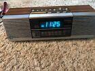 VTG General Electric GE 7-4945A Dual Alarm Clock AM/FM Stereo Radio Blue LED
