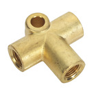BC101003WAY Sealey Brake Tube Connector M10 x 1mm 3-Way [Brakes] [Consumables]