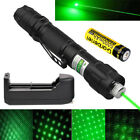 Tactical 10 Miles 532nm Green Laser Pointer Pen Visible Beam+Battery+Star Cap US