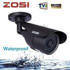 ZOSI 1080P CCTV Camera 42 IR LEDs Outdoor Night Vision 120ft 3.6mm Bullet Camera