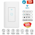 US WIFI Wall Touch Light Switch Smart Home Remote Control Work With Alexa