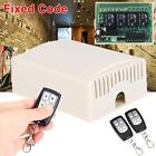 DC 12V 4CH Wireless Remote Control Relay Switch Transceiver + Receiver Fixed GA
