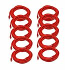 iMBAPrice - Cat6 Snagless RJ45 Ethernet Patch Cable in Red (14 Feet) - 10 Pack