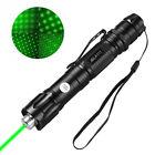 50Miles Range 1MW 532nm Green Laser Pointer Pen Visible Beam Light USA Seller