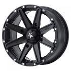 4/110 Motosport Alloys M33 Clutch Wheel 14x7 4.0 + 3.0 Satin Black