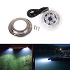 12W Cool White LED Surface Mount Underwater Boat Light Lamp 10-30V DC Waterproof