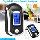 Professional Breath Blood Alcohol BAC Test Blow-In Breathalyzer Digital Device