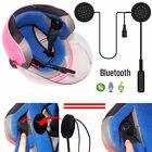 Helmet Headset Speakers Bluetooth Handsfree Music Call Control for Motorcycle US