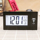 1pc Projection Alarm Clock Battery Operated 12/24 Hours Modern Clock for Indoors