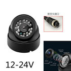 4Pin 12-24V 24LED Dome Style Video Security IR Car Truck Bus RV Side View Camera