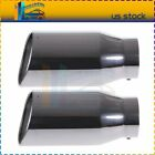 """Diesel Stainless Steel Bolt On Exhaust Tip 5"""" Inlet - 7"""" Outlet - 15"""" Length"""
