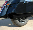 Black Back Cut Slip On Exhaust D&D 569-11FQ Cross Country/Roads