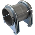 Ø43x100mm Tube Repair Pipe Coupling Double Socket Exhaust Connector Sleeve