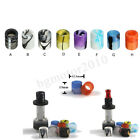 Mini Acrylic Drip Tips Cap Replacement Colorful For Aspire Cleito 12.5mm