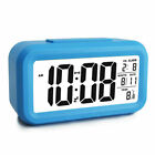 Snooze Electronic Large Digital Alarm Clock LED Light Thermometer Date for Kids