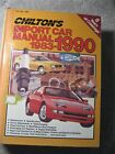 Chilton's Import Car Manual 1983-1990