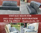 Original Vintage Bench Seats for 1955-1956 Chevy