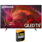"Samsung QN55Q8FNB Q8 Series 55"" Q8FN QLED Smart 4K TV(2018) w/ Extended Warranty"