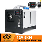 Warmtoo All In One 12V 8KW Metal Diesel Air Heater Car Parking Heater White