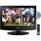 "SuperSonic SC-1512 HDTV 15.6"" 720p AC/DC LED TV/DVD Player"