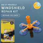 DIY Windshield Repair Kit Quick Fix Car Glass For Chip Crack NEW