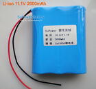 11.1V 10.8V 12V 2600mAh Lithium Ion Rechargeable Battery Packs PCB Protection IC