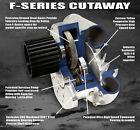 ATI Procharger F-1C Supercharger Head Unit F1C NEW Satin Finish Drag Race Blower