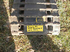 vintage Polaris # 1  snowmobile track I have lots of other vintage sled part