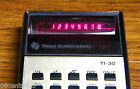 Vintage Working Texas Instruments TI-30 Sliding Rule Calculator *Made In USA*