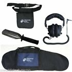 Stainless Digger, Treasure Wise Carry Bag, Finds Pouch and Angle Plug Headphones