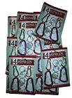 10 x 4 Packs (40 Total) Carabiner Backpack Clip Keyrings - LOCAL AUSSIE STOCK