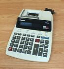A/C Power Canon P170-DH Printing Calculator w/ Calendar & Clock 2 Color 12 Digit