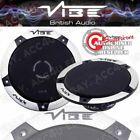 """Vibe SLICK4-V5 Slick 4 4"""" 300w Car Door Dash Shelf Coaxial Speakers Set Pair"""