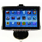 "5"" Vehicle Car GPS Navigation Sat Nav Touch Screen 128RAM Mp3 Mp4 FM Free Map"