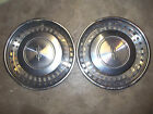 """HUBCAPS   2   OLDS   15""""  VINTAGE      ILLINOIS   SHIPS  48 US STATES"""