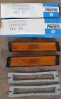 NOS 1970 1971 Chrysler New Yorker 300 side marker lens pair 3420862 3420863