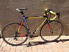 Large LOOK 586 Mondrian Limited Edition Carbon Road Racing Bike - VERY RARE!!!